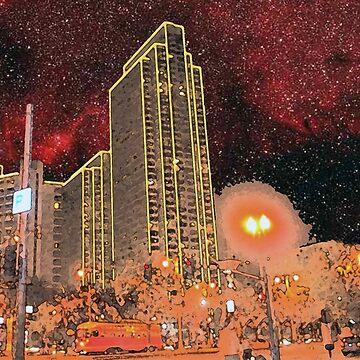 Starry Night - San Francisco by photoartful