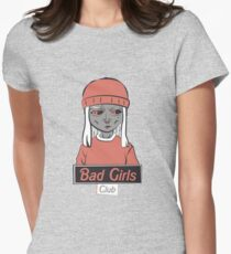 BAD GIRLS CLUB moody Womens Fitted T-Shirt