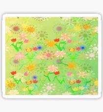 Spring Riot Pattern Sticker