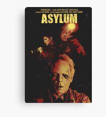 Supernatural Asylum Canvas Print