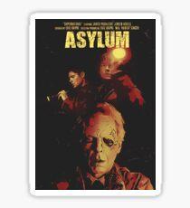 Supernatural Asylum Sticker