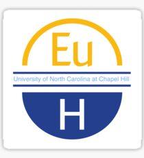 European Horizons at Carolina Sticker