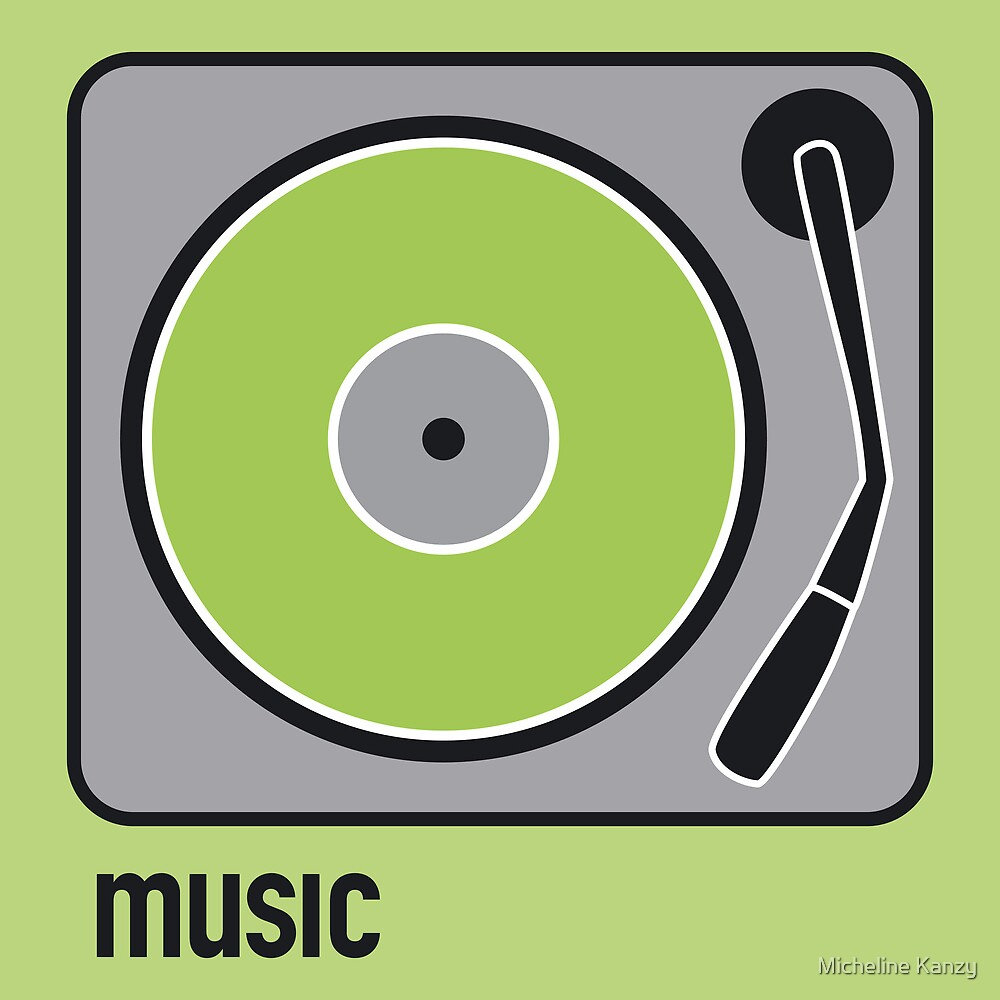 music green by Micheline Kanzy