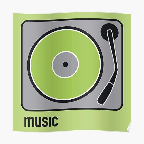 music green Poster