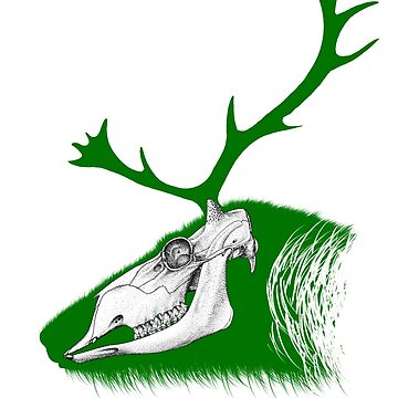 Rudolph the Green Reindeer by JAHeadden
