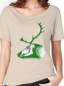 Rudolph the Green Reindeer Women's Relaxed Fit T-Shirt