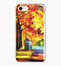 Tardis Stay Alone iPhone Case/Skin
