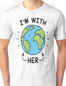 I'm With Her T-Shirt Unisex T-Shirt