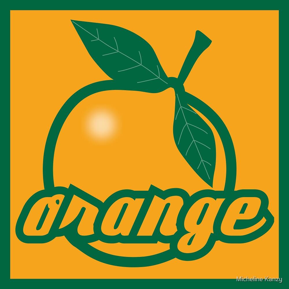 orange II by Micheline Kanzy