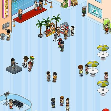 Habbo Lobby by CounterProducts