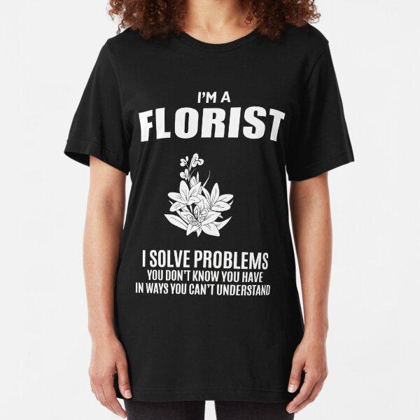 FLORIST Slim Fit T-Shirt