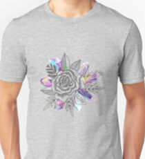 Rose and Crystals Unisex T-Shirt