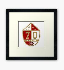 49ers Framed Print
