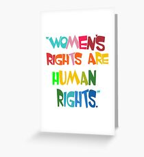 Womens Rights are Human Rights-feminist t-shirt, nasty women t shirts, feminism shirt, feminist tee, the future is female Clothing, Mug, Pillow, Phone case Greeting Card