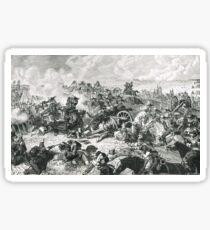 The Battle of Waterloo 18 June 1815 Sticker