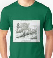Advance Australia Punch Cartoon by John Tenniel 1891 Unisex T-Shirt