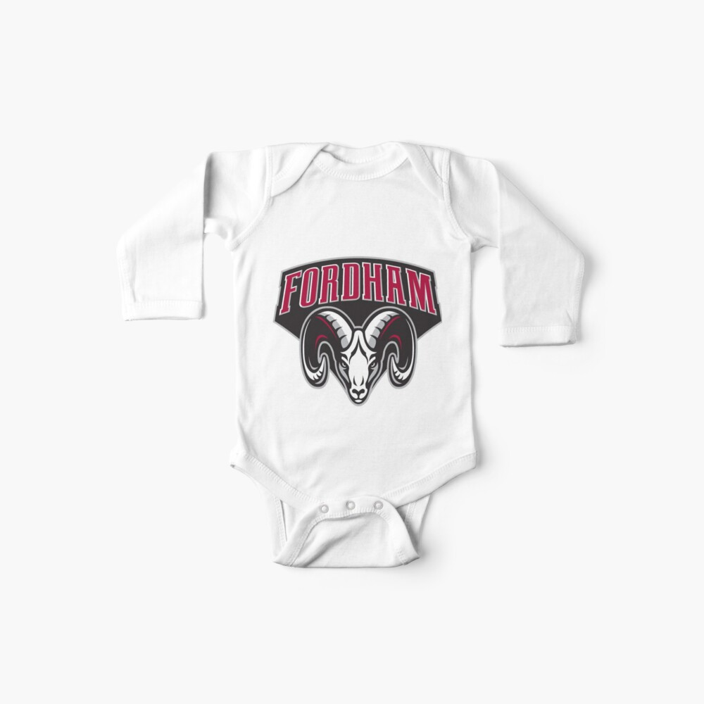 fordham rams Baby One-Piece
