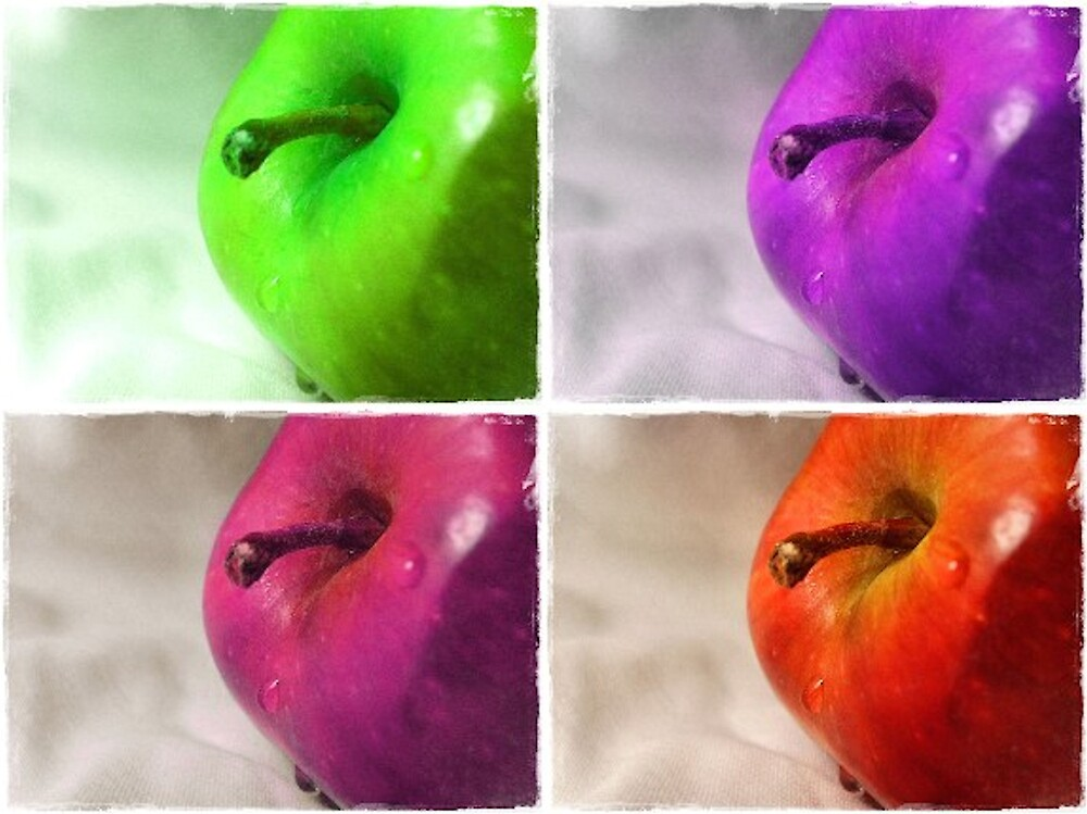 Colorful Apples by Shante' Mathes
