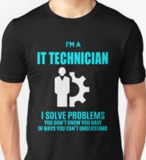IT TECHNICIAN T-Shirt