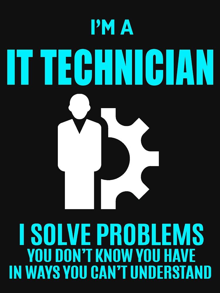 IT TECHNICIAN by janewhiter