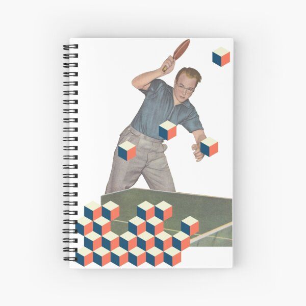 The Tabletennis Player Spiral Notebook