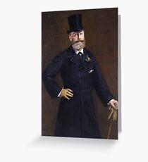 Edouard Manet - Antonin Proust (1880) Greeting Card