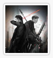 Sniper and Knight Sticker