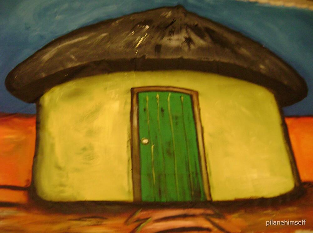 Yellow Hut by pilanehimself