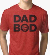 DAD - Dad Bod Tri-blend T-Shirt