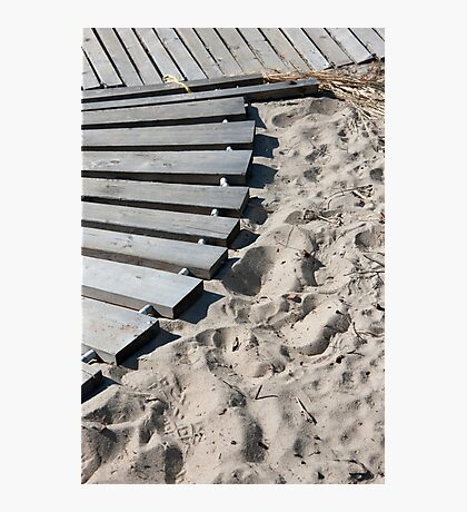 Sandy Edges Photographic Print