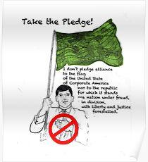 Take the Pledge Poster