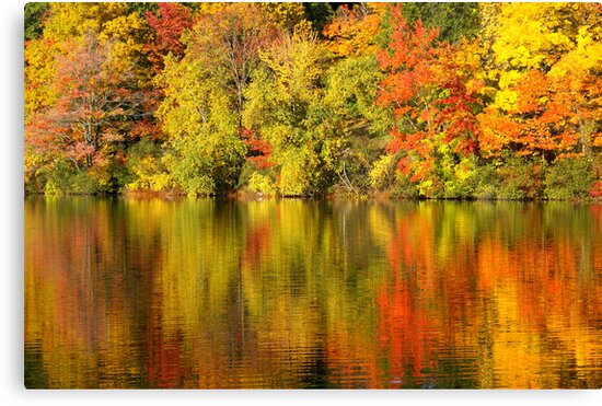 Autumn Reflections by Mary Lake