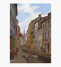 Eduard Gaertner - Parochialstrasse In Berlin Photographic Print