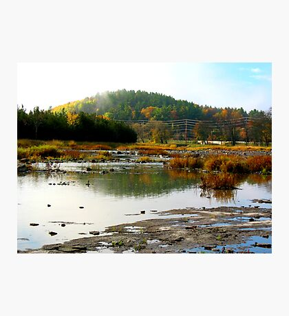 Autumn in Campbellford Photographic Print