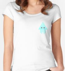 Sky Jellyfish Women's Fitted Scoop T-Shirt