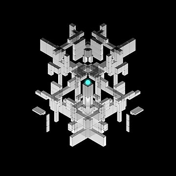 Beautiful Symmetry dark version by XOXOX