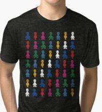 Jet Set (pattern) Tri-blend T-Shirt