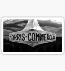 Morris Commercials Badge Design Sticker