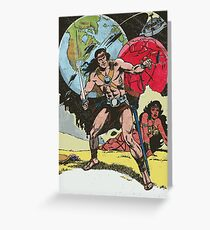 space warrior Greeting Card