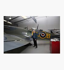 Biggin Hill Heritage Hangar - Getting Spitfires back in the air Photographic Print