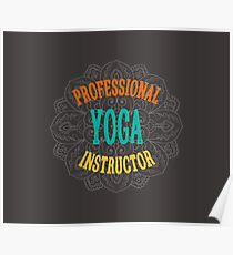 Yoga Instructor Poster