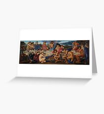 Edward Burne-Jones - The Feast Of Peleus Greeting Card
