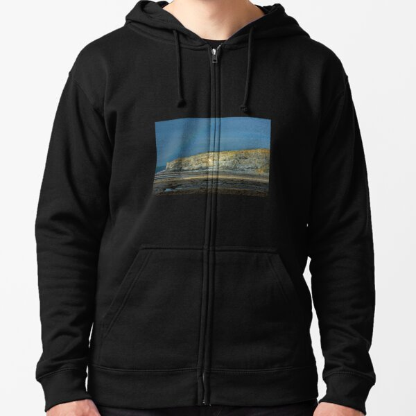 Cliffs on the Glamorgan Heritage Coast Zipped Hoodie