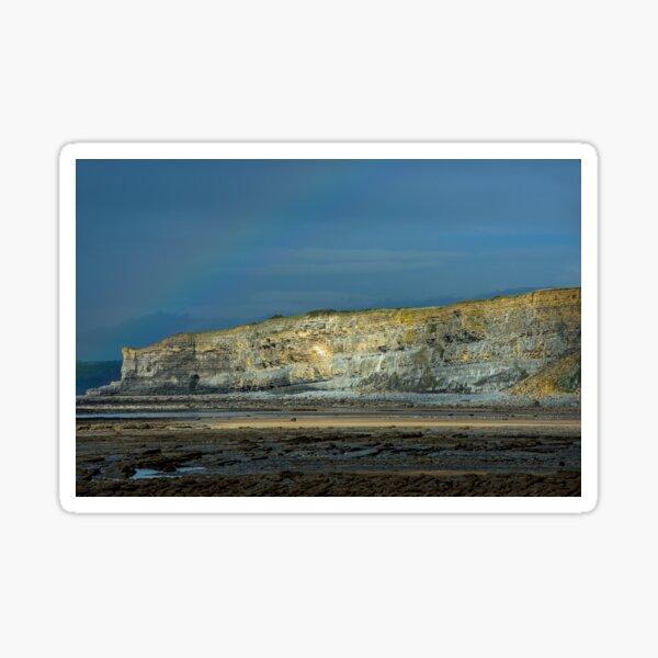 Cliffs on the Glamorgan Heritage Coast Sticker