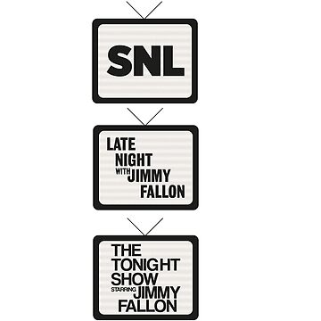 Jimmy Fallon TV History by haaveyoumetsam