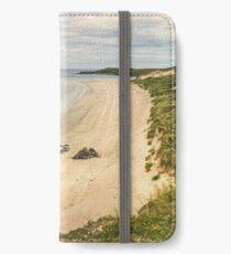 The Beach by Balnakiel Bay iPhone Wallet/Case/Skin