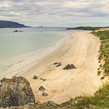 The Beach by Balnakeil Bay by VoluntaryRanger