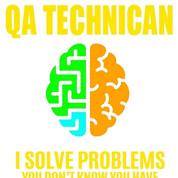 QA TECHNICAN by janewhiter