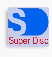 Nintendo PlayStation Super Disc ® Canvas Print