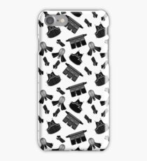 Kendo Bogu Mosaic Pattern White & Black iPhone Case/Skin